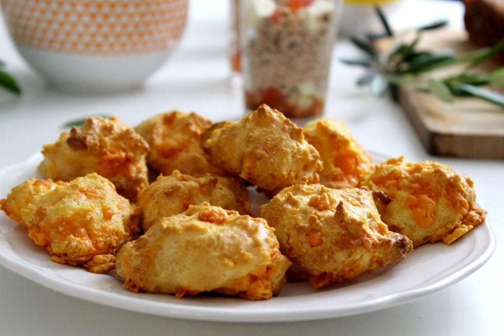 recette de gougères à la mimolette. Healthy et facile à faire.