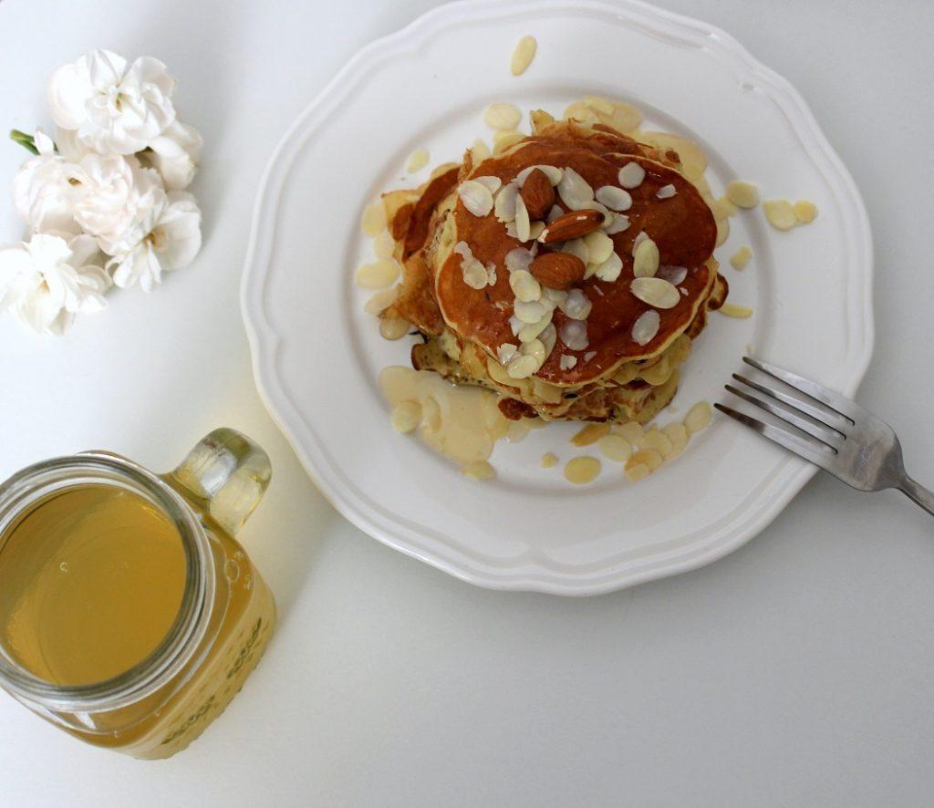 petit déjeuner pancakes