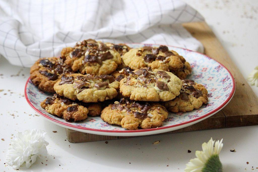 Recette de cookies au kinder. Gourmande et parfaite pour les enfants.