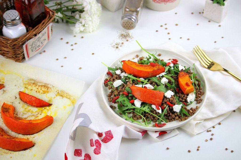 Salade végétarienne healthy et facile à faire.