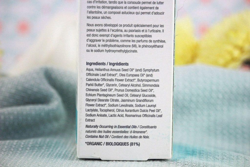 étiquette ingrédients naturels - only laurie