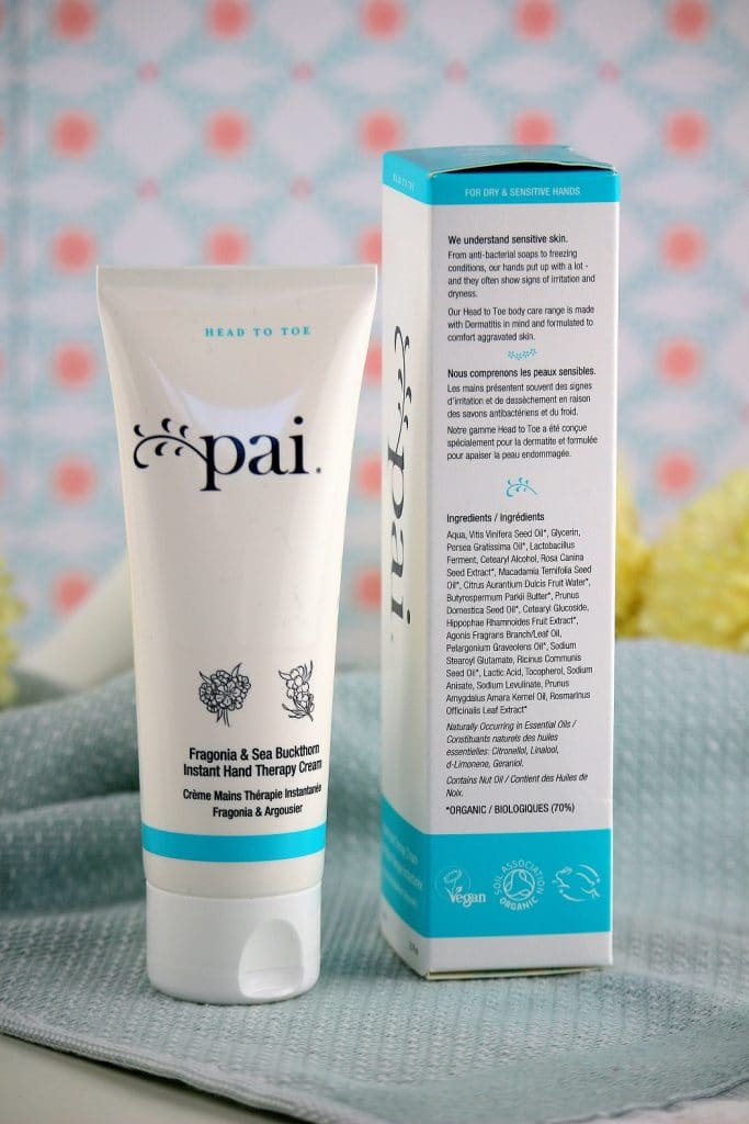 crème mains pai skincare - only laurie