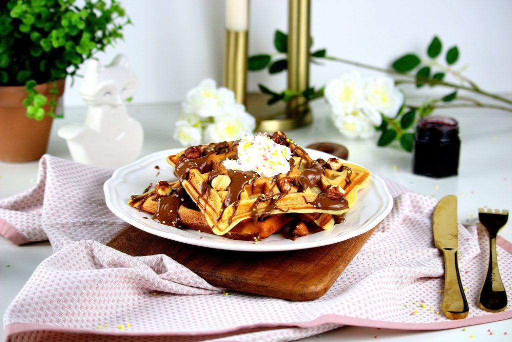 recette de gaufres moelleuses et facile à faire. Parfait pour un goûter gourmand.