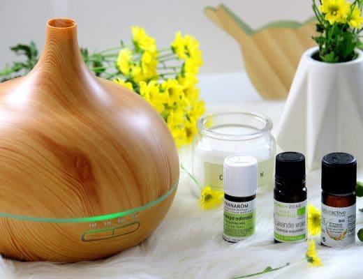 huiles essentielles et diffuseur - only laurie