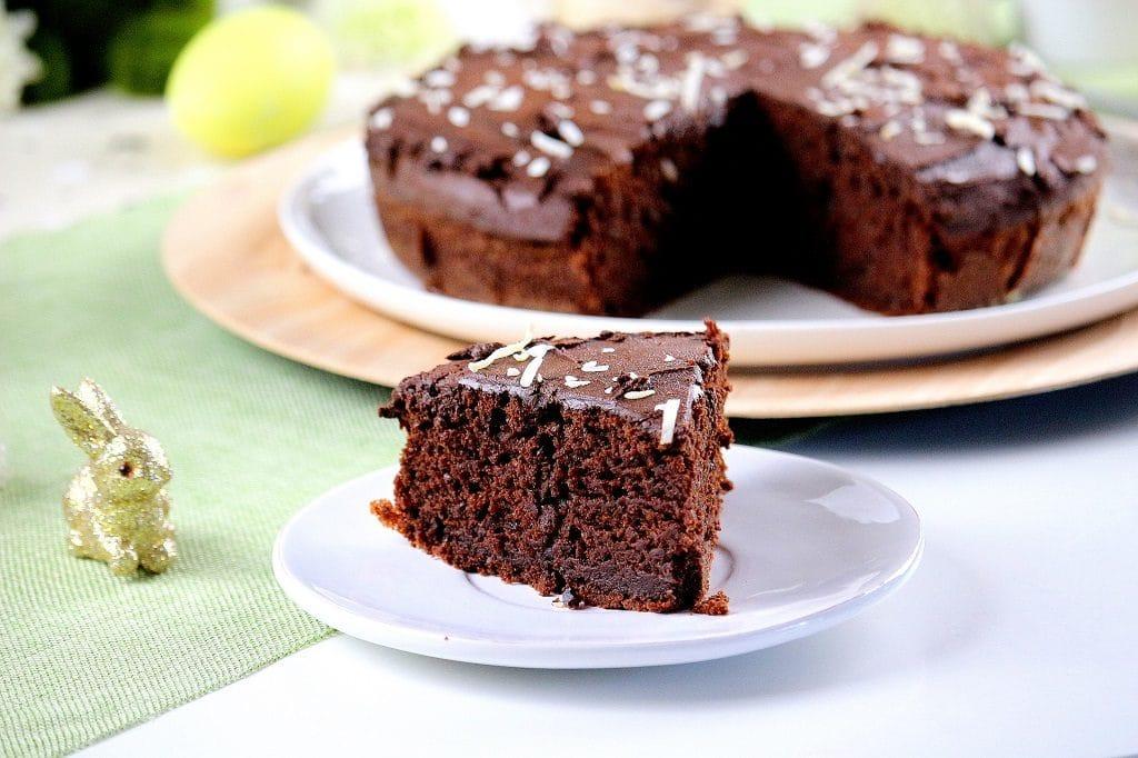 gâteau au chocolat vegan - only laurie