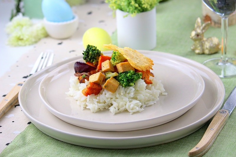 recette tofu - only laurie