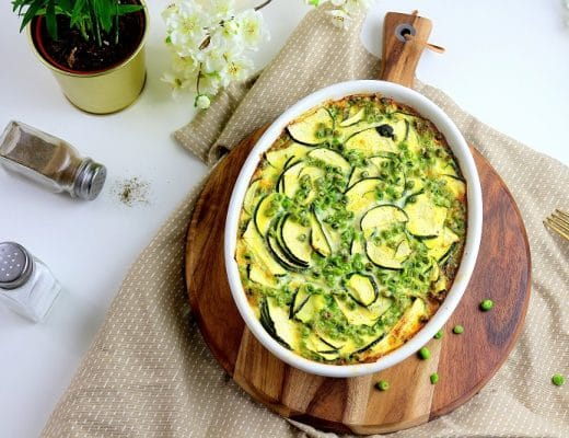 recette clafoutis légumes - only laurie