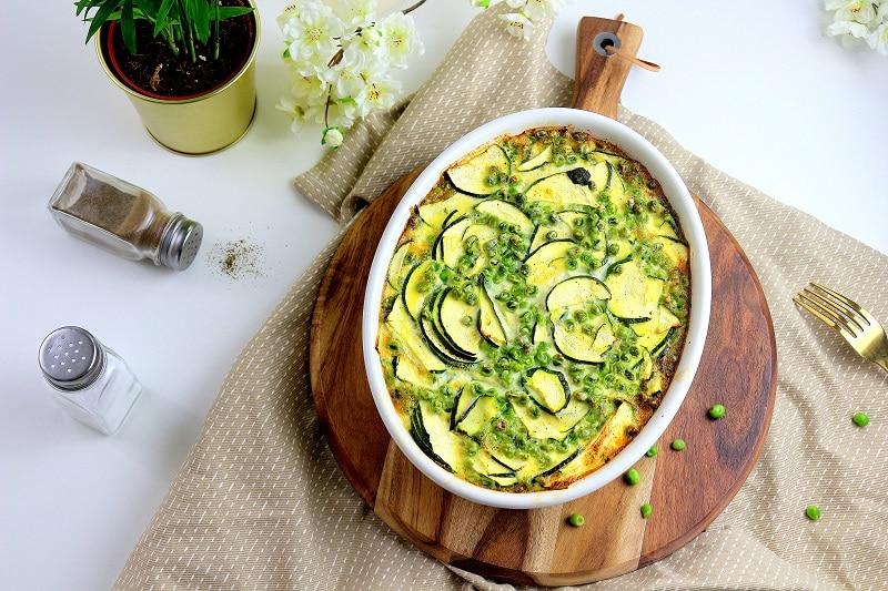 recette clafoutis légumes - only laurie