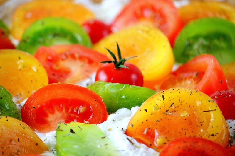 tomates multicolores - only laurie