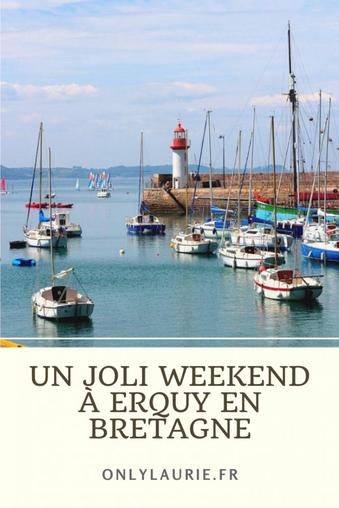 Un joli weekend à erquy en bretagne pour découvrir de superbes paysages lors de vacances en France.