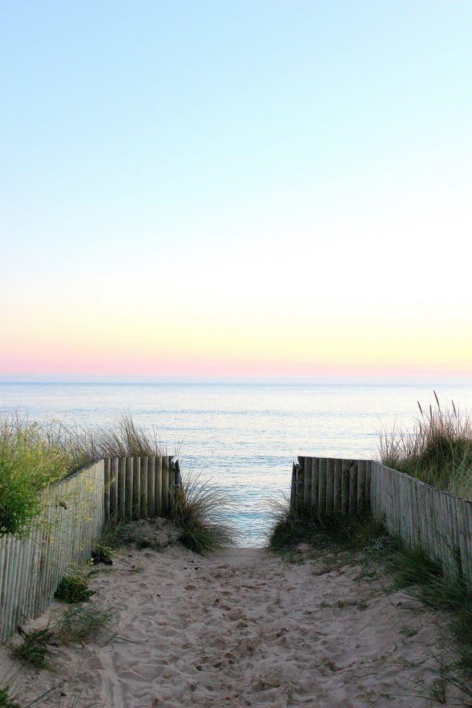 Barneville plage, des plages naturelles dans la Manche.
