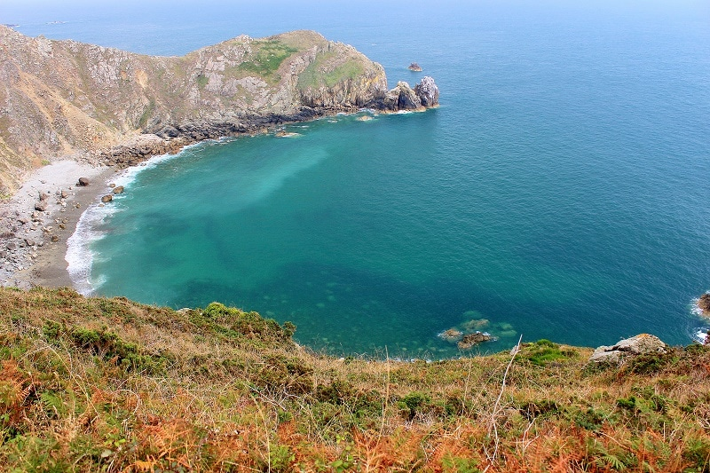 nez de jobourg un magnifique endroit pour randonner dans le Nord Manche.