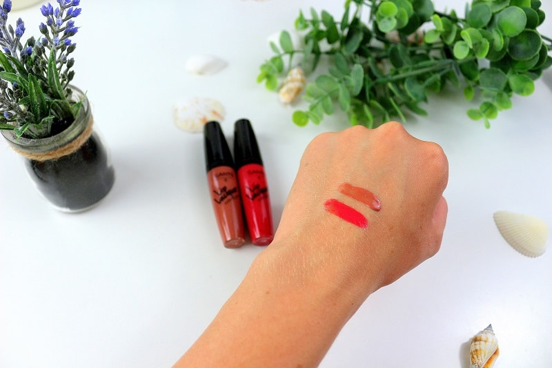swatch lips lacquer santé only laurie