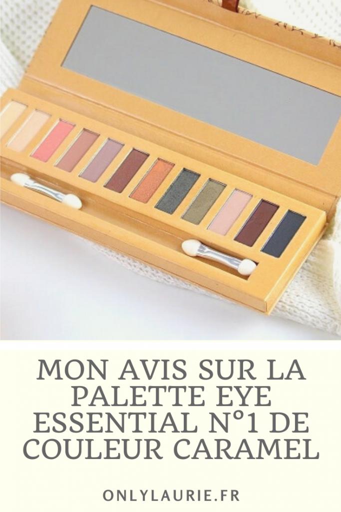 Mon avis sur la palette eye essential n°1 de chez couleur caramel. Du maquillage bio et naturel de qualité.