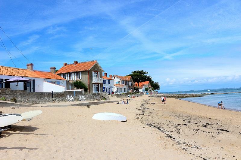 plage du vieil à Noirmoutier