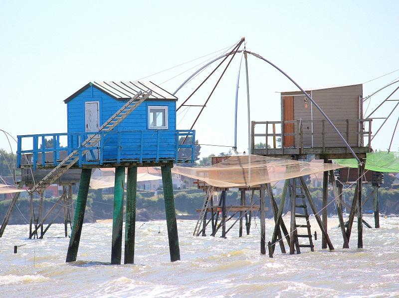 Cabanes de pêcheurs sur la côte de jade.