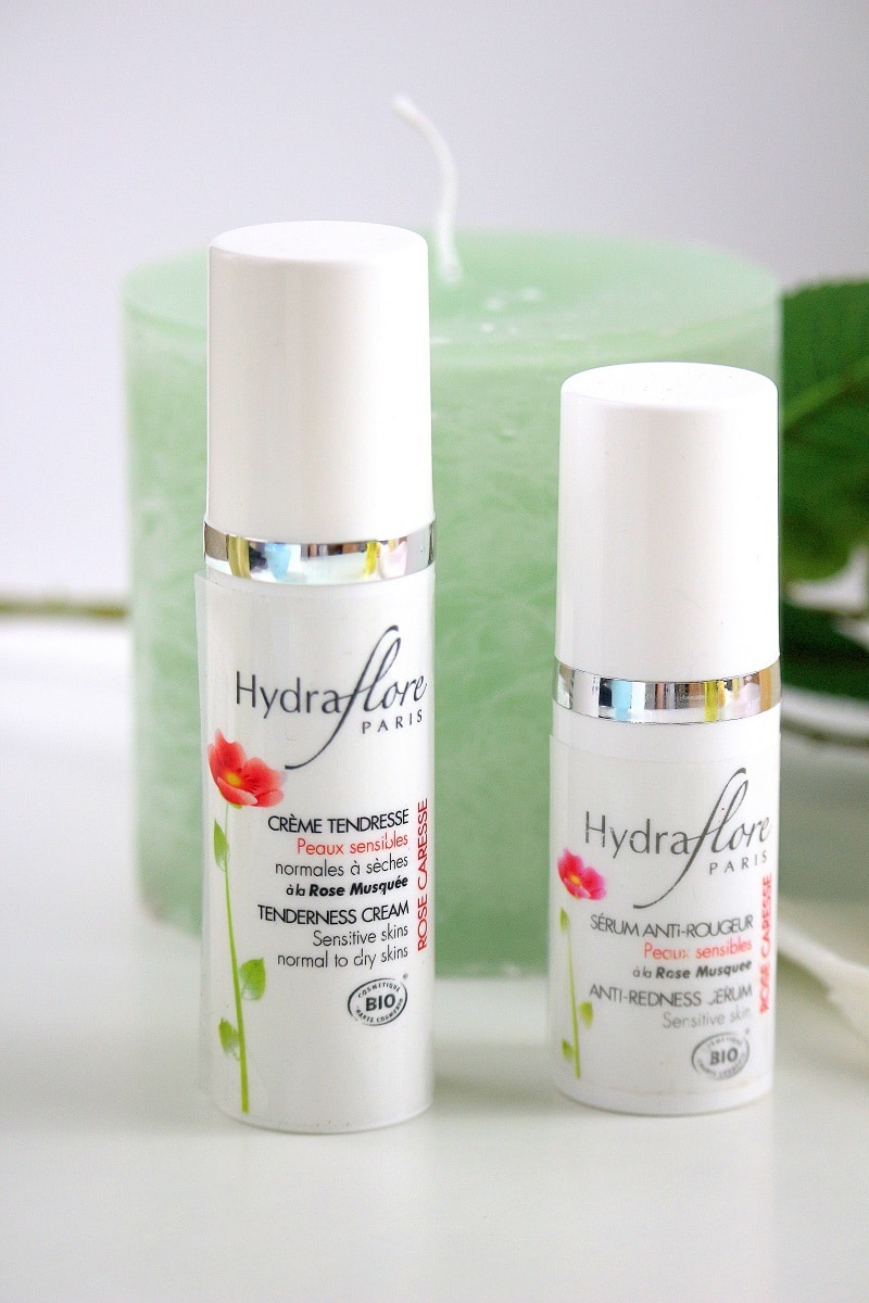 soin visage caresse hydraflore only laurie