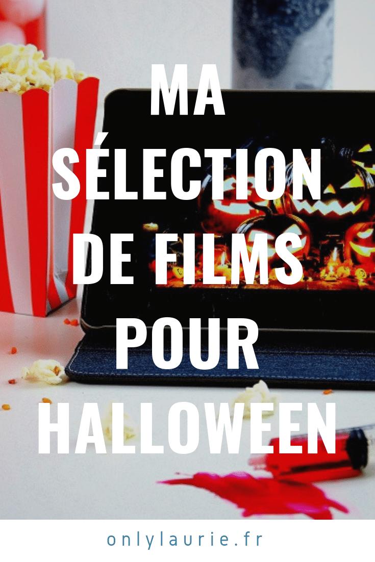 Ma sélection de films pour Halloween. Films d'horreur, psychologique et pour toute la famille.
