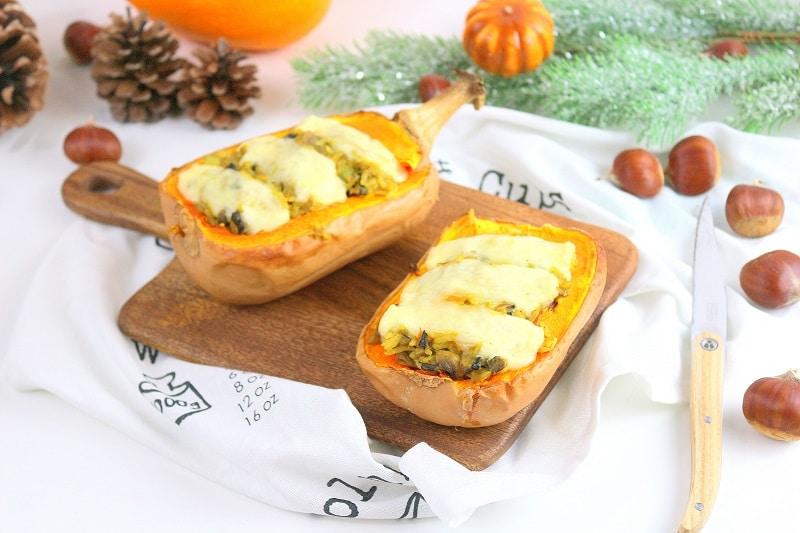 recette courge végétarienne only laurie
