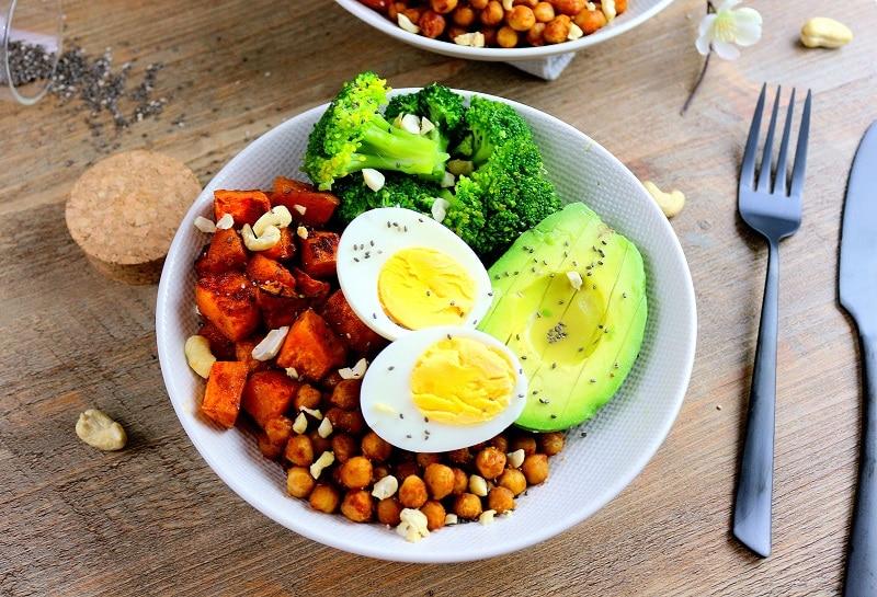 Buddha bowl d'hiver healthy parfait pour un repas équilibré.