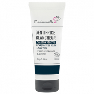 dentifrice-blancheur-au-charbon-vegetal-mademoiselle-bio only laurie
