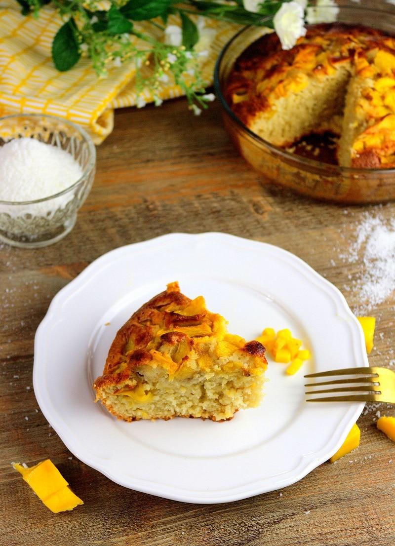gâteau à la mangue only laurie