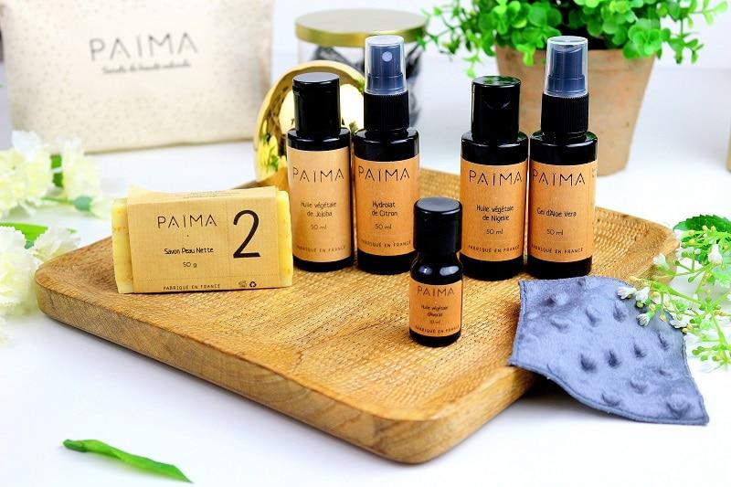 routine peaux acnéiques paima only laurie