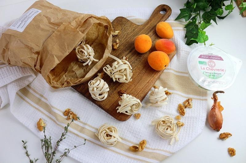 Recette de pâte sucré salé aux abricots