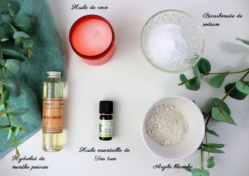 5 ingrédients naturels pour fabriquer son dentifrice maison.