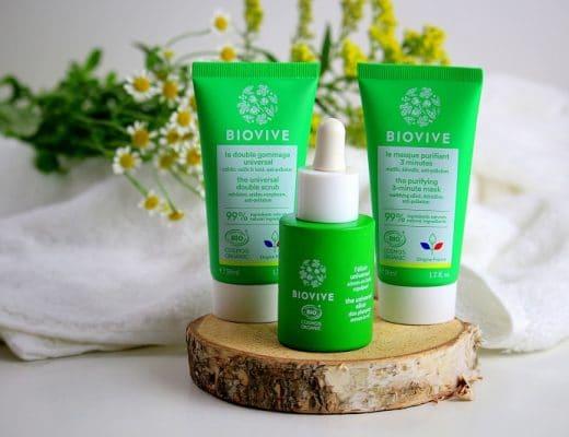 Ma routine beauté naturelle et minimaliste avec Biovive.