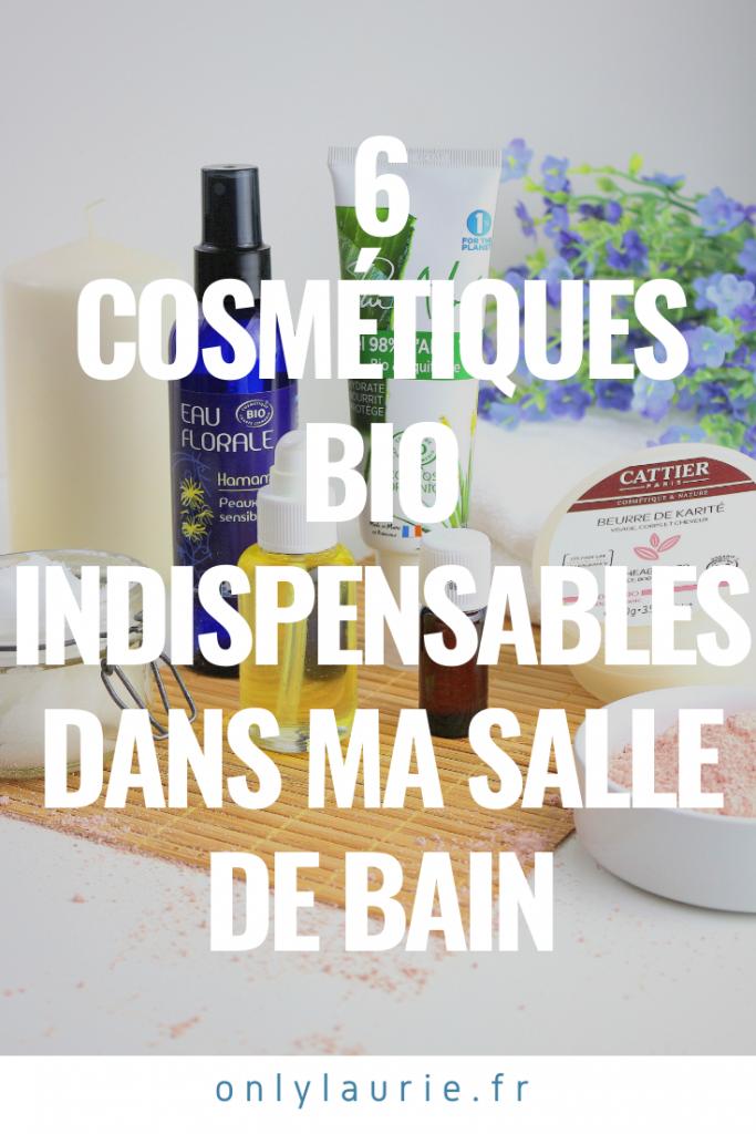 6 cosmétiques bio pour avoir une routine beauté naturelle. Parfait pour avoir une belle peau et de beaux cheveux.