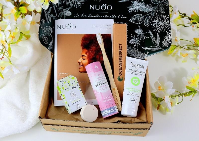 Mon avis sur la box beauté naturelle et bio Nuoobox.