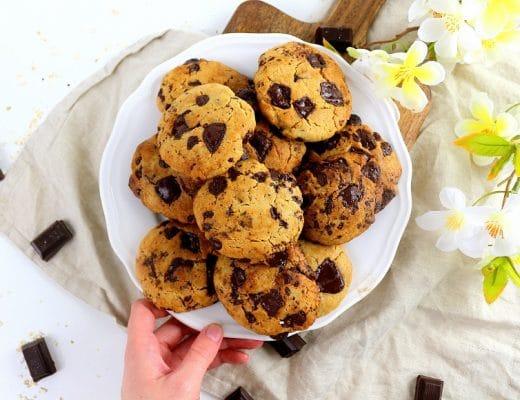 Recette de cookies vegan.