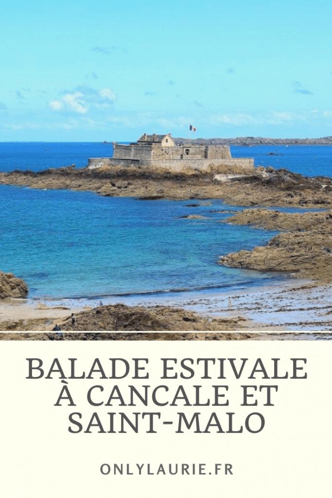 Balade estivale à Cancale et Saint-Malo. Une très belle destination de vacances en France pour profiter de jolies plages aux eaux turquoises et de spécialité Bretonne. Des vacances en toute tranquillité.