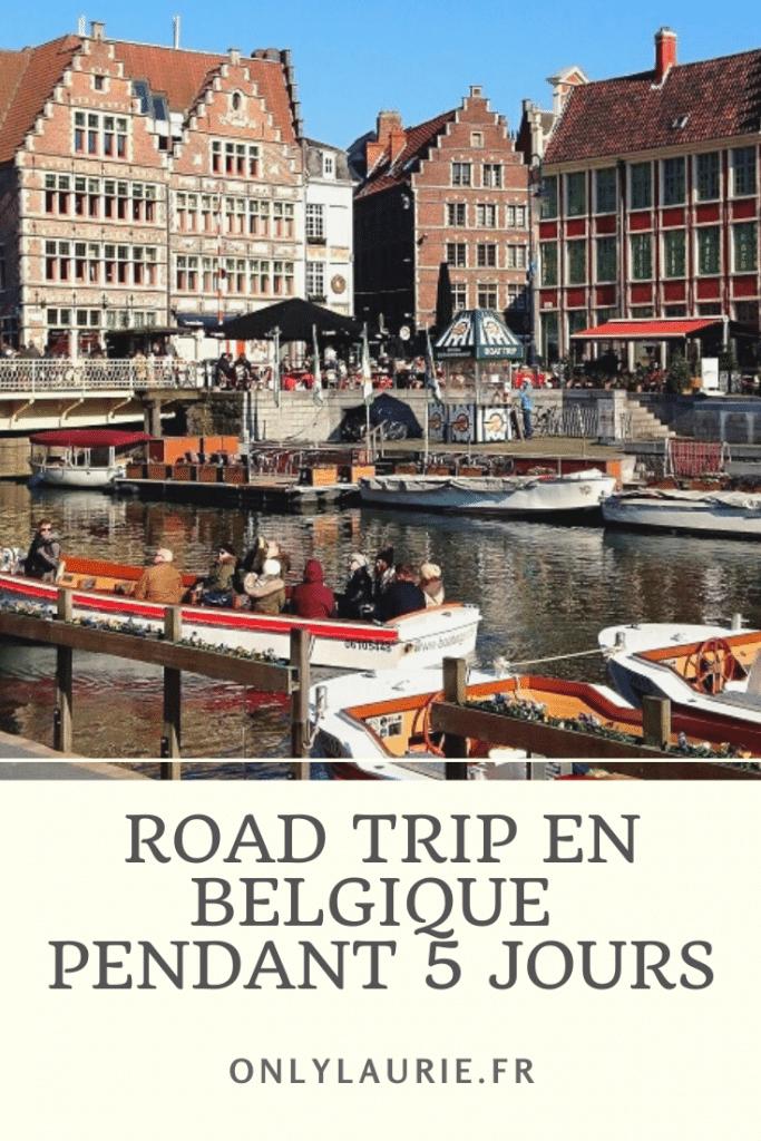 Road trip en Belgique sur 5 jours. Découvrez les superbes villes de namur, liège, anvers, gand et Bruges. Un road trip proche de la France à des prix très abordables.