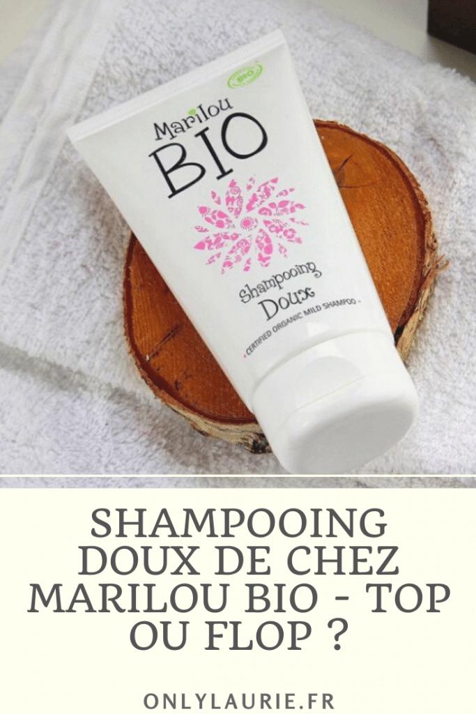 Mon avis sur le shampoing doux de chez Marilou bio. Un shampoing bio au miel et à l'aloe vera pour protéger et réparer ses cheveux.