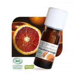Huile essentielle de mandarine rouge bio.