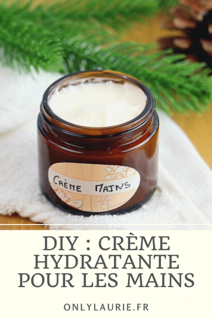 pour réaliser une crème hydratante pour les mains. Une recette naturelle et facile à faire. Une crème parfaite pour réparer les mains abimées. Elle hydrate en profondeur et ne colle pas.