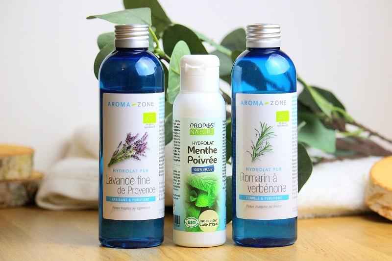 3 hydrolats pour soulager les peaux acnéiques ou mixtes. Purifiant, astringent, rééquilibrant. Parfait pour lutter contre les imperfections naturellement.