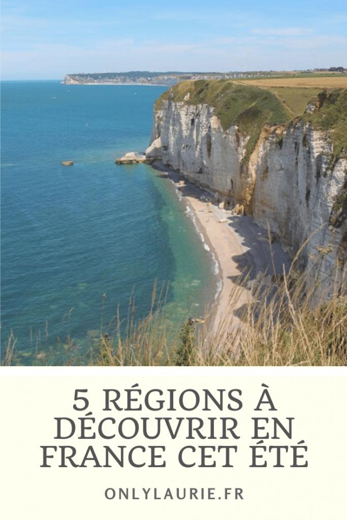 5 régions à découvrir en France cet été. Partez à la découverte de la Normandie, de la Bretagne, du Lot, des Vosges et du centre val de loire. De superbes régions pour passer un bel été.