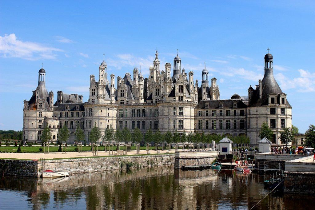 Château de Chambord de la région Centre Val de Loire. Une superbe région remplie d'histoire à découvrir.