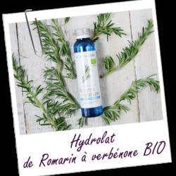 Hydrolat de romarin à verbénone aroma zone.