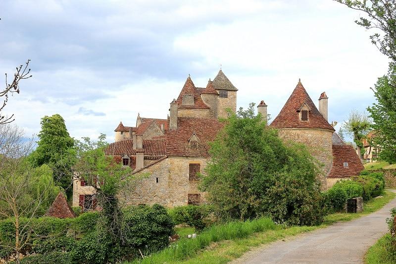 Village d'Autoire dans le Lot en Dordogne. Une très jolie région de France.
