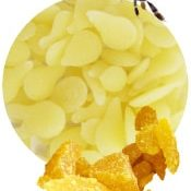 Cire d'abeille jaune bio.